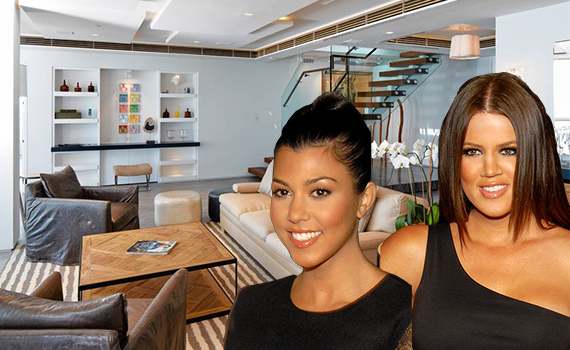 Kourtney & Khloe and the penthouse at the Hilton Bentley