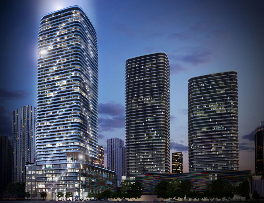 SLS Lux and Brickell Heights
