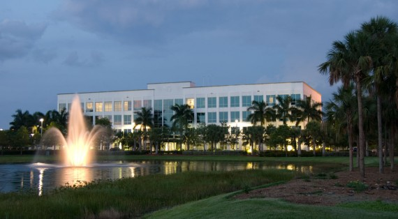 The Weston Pointe I office building, one of four sold by the Gramercy Property Trust