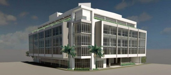 A rendering of Paragon and Oxford's medical office project in South Miami