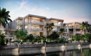 Rendering of 121 Marina condominium at Ocean Reef