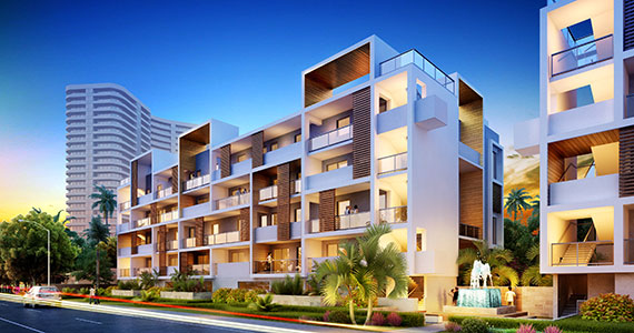 A rendering of the 24-unit condo project in Fort Lauderdale