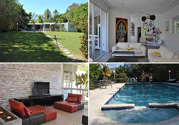 The home at 4333 Pine Tree Drive in Miami Beach