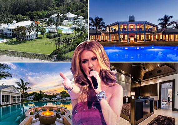 Celine Dion and 215 South Beach Road