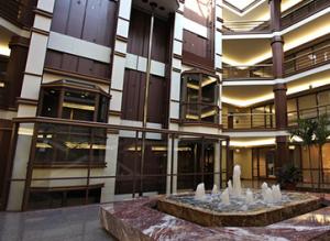 800 Fairway's center atrium