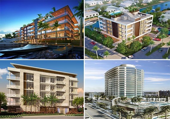 Renderings of new construction in Fort Lauderdale