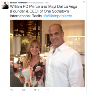 Mayi de la Vega and William Pierce