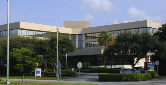The Interstate Plaza office building in Boca Raton