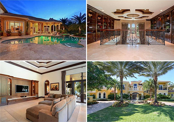 Jason Taylor's Weston home