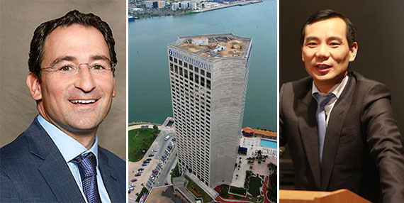 Jonathan Gray, InterContinental Miami at 100 Chopin Plaza and Anbang's Wu Xiaohui
