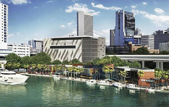 Rendering of Riverside Wharf