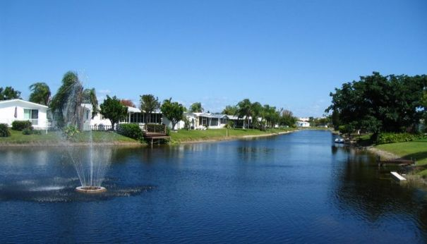 The Tallowwood Isle manufactured home community in Fort Lauderdale
