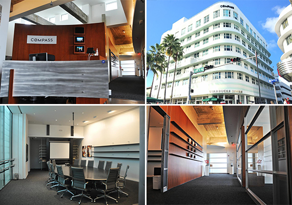The Compass office at 605 Lincoln Road