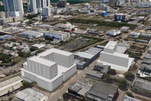 Wynwood Square aerial from the proposed plans