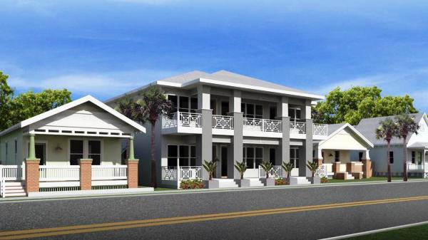Rendering of Ybor City home building project led by Michael Mincberg of Sight Real Estate