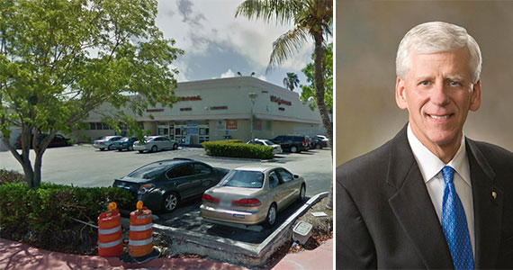 1845 Alton Road and William Crenshaw, CEO of Publix Super Markets