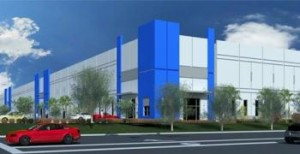 Rendering of Airport North Logistics Center in Medley