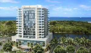Rendering of AquaBlue in Fort Lauderdale