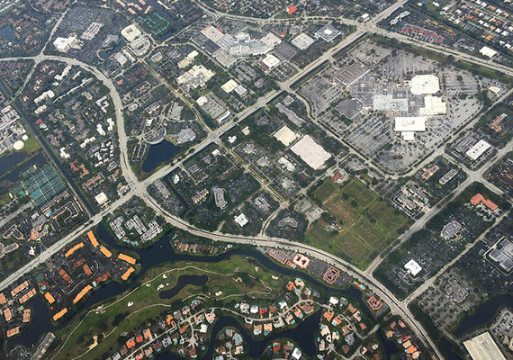 Aerial view of Broward County (Credit: Francisco Azola)