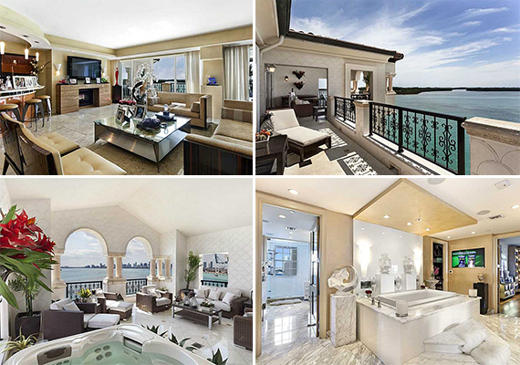 Unit 5292 at 5292 Fisher Island Drive