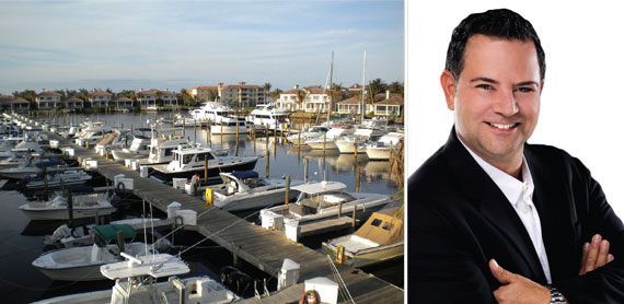 Real estate agent and investor Jeff Morr (right) said Vero Beach upstages Palm Beach in serenity