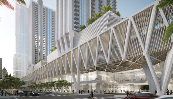 MiamiCentral station promises to bring 280,000 square feet of office space to downtown Miami