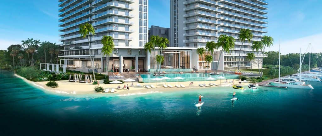 Rendering of the Harbour in North Miami Beach