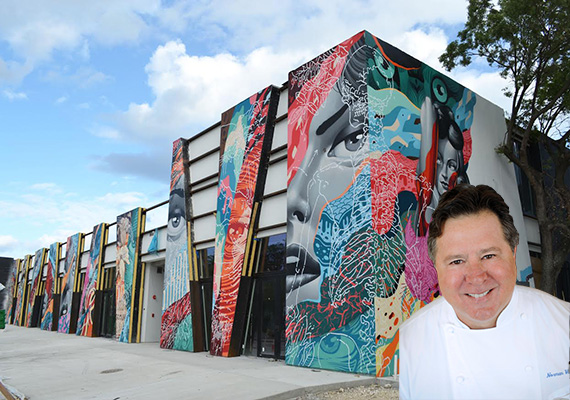 Wynwood Arcade and Norman Van Aken