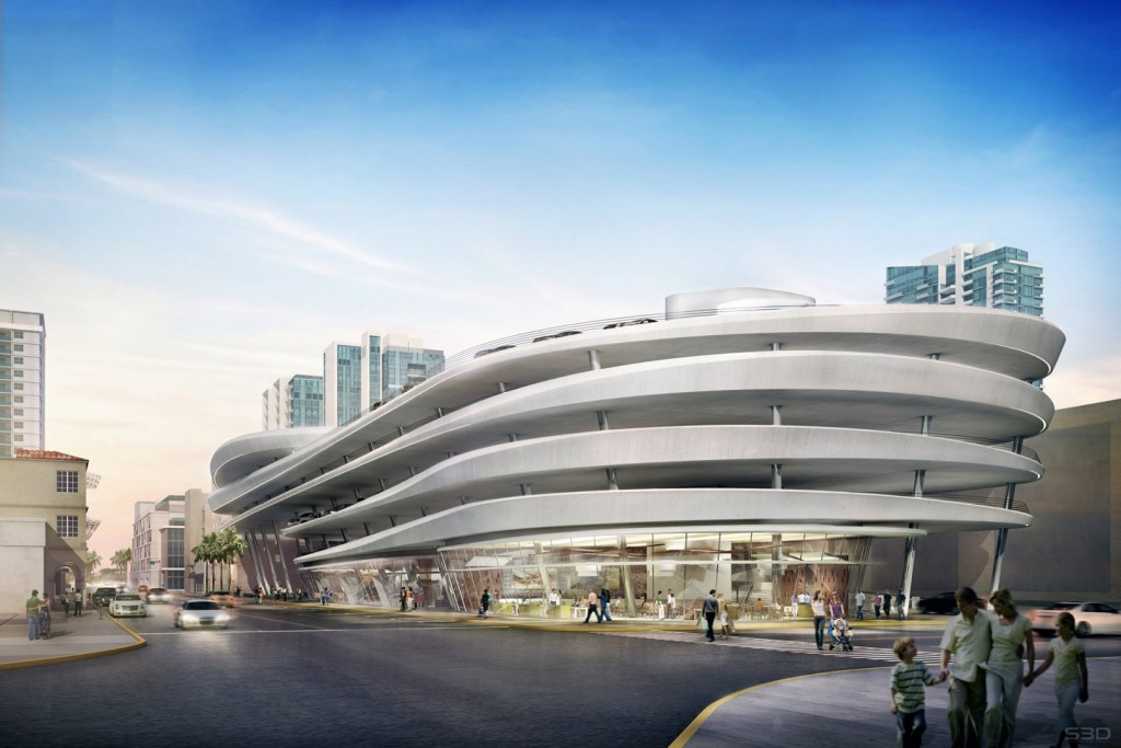 Zaha Hadid's designs for Collins Park Place