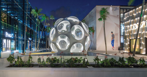 The Miami Design District scored the largest construction loan last year, to the tune of $600 million.