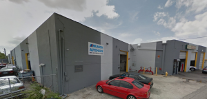 The North Miami warehouses at 12400 Northeast 13th Place