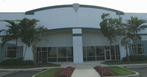 2500 West Copans Road, one of four buildings included in the sale