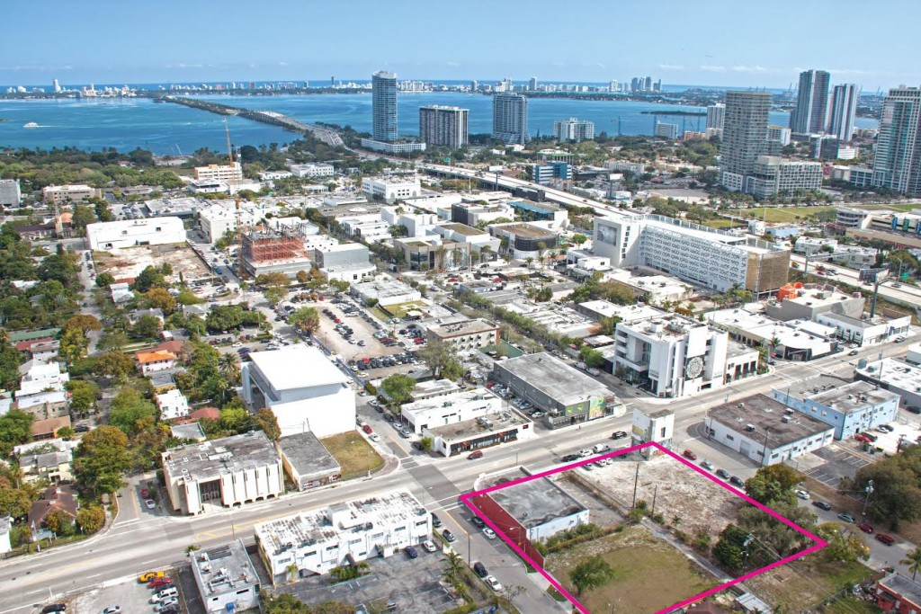 The assemblage at 4000 North Miami Avenue in the Design District