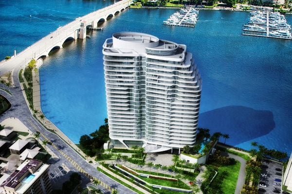 Rendering of The Bristol in West Palm Beach