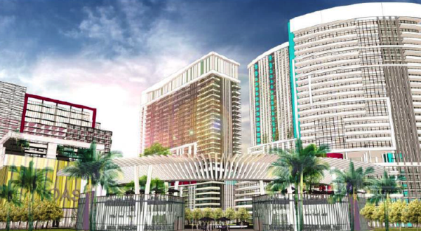 Rendering of Hallandale Oasis