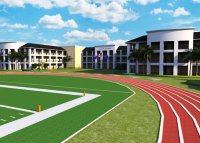 Rendering of new Pembroke Pines charter school