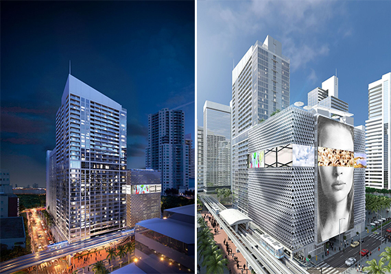 Renderings of 300 Biscayne apartments