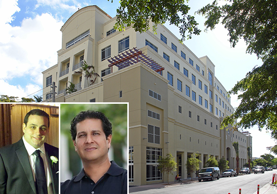 Steven Fischler and Eyal Alfie, and their office at 135 San Lorenzo Avenue in Coral Gables