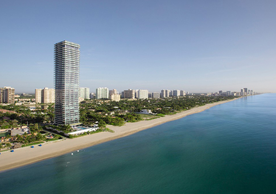 Rendering of Regalia in Sunny Isles