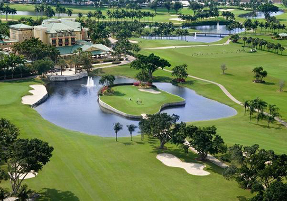 Diplomat Golf & Tennis Club in Hallandale Beach
