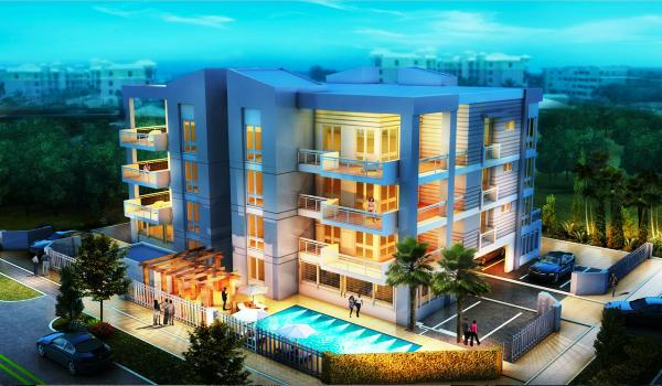 Rendering of the Fordham condominium in Deerfield Beach