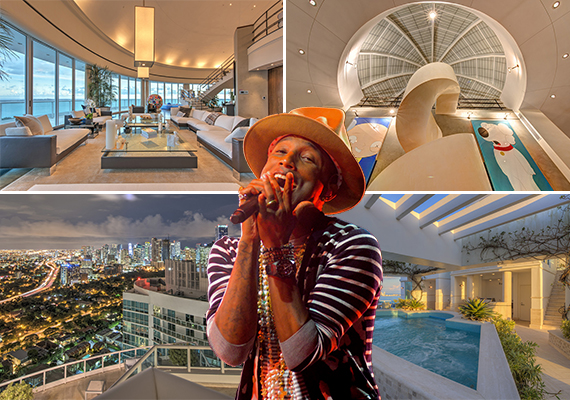 Pharrell Williams and his Brickell condo