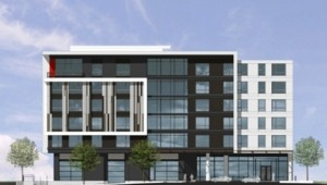 Rendering of Portland, Maine, rental project planned by Federated Companies