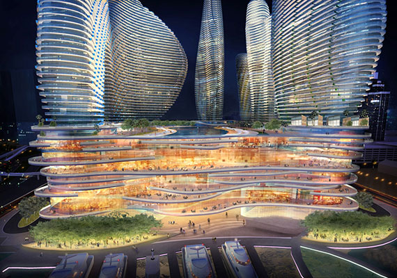 Rendering of Resorts World Miami