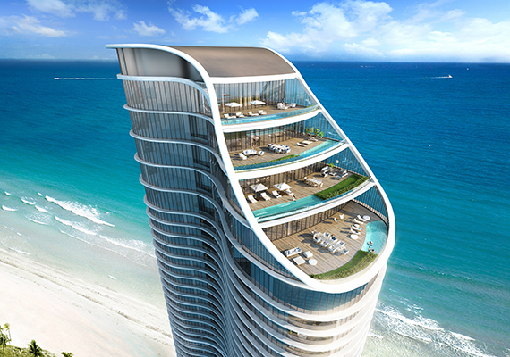 Rendering of the Ritz-Carlton Residences Sunny Isles Beach