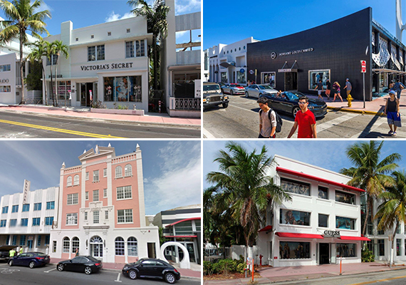South Beach retail portfolio