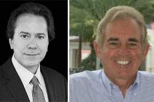 William Zeckendorf, co-owner of Brown Harris Stevens, and Ocean Club Realty owner Chris Blackman