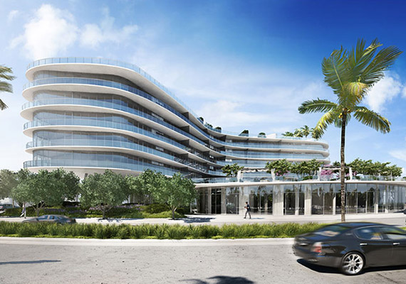 Rendering of One Ocean in South Beach