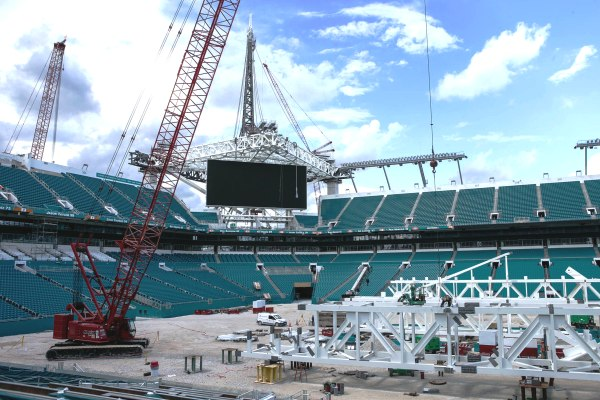 Miami Dolphins Stadium Sun Life Stadium Renovation