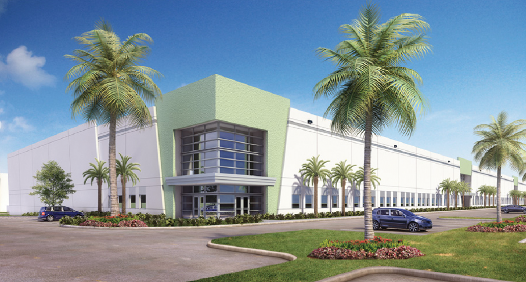 Rendering of the Hillsboro Technology Center